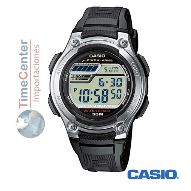 210efa6b37f8 Reloj Casio Digital Para Hombre y Niño W-212h-1a