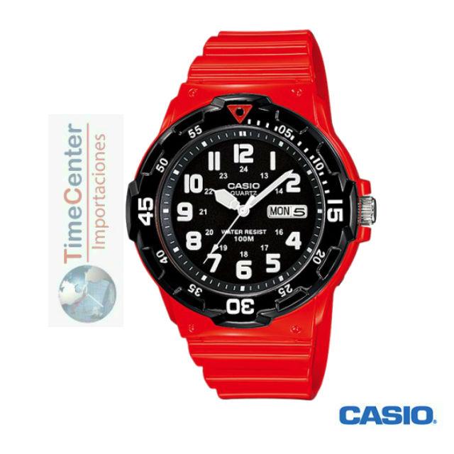 e11c5c496827 Reloj Casio Analógico Para Hombre Mrw-200hc-4bv