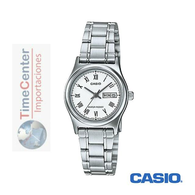 69ec54e62279 Reloj Casio Analógico Para Mujer Ltp-v006d