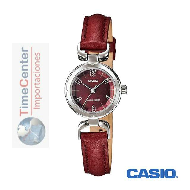 5dca2c55aea5 Reloj Casio Analógico Para Mujer Ltp-1373l