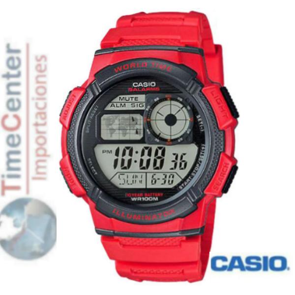 Reloj Ae DigitalHora 1000w Casio Hombre Mundial Para 76fYyvgb