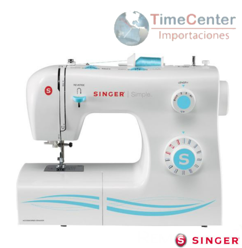 Maquina De Coser 23 Puntadas Ojalas En 4 Pasos Sin2263 | TimeCenter