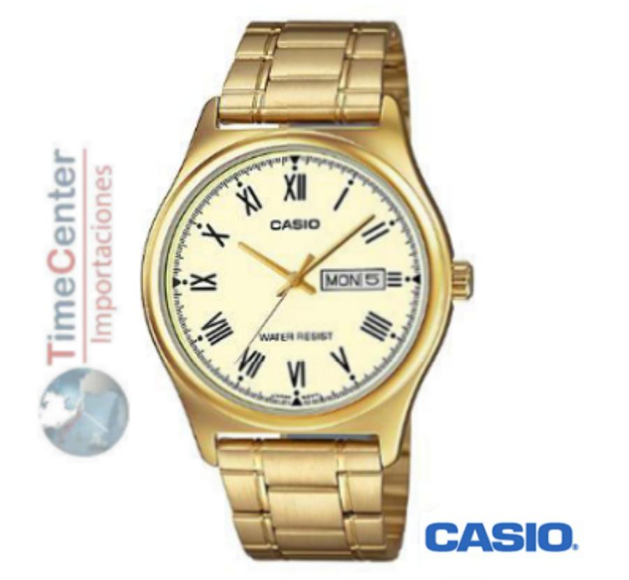 1ef819cfb128 InicioRelojeríaRelojesReloj Casio Analógico Para Hombre Mtp-v006g-9budf.  🔍. Relojería